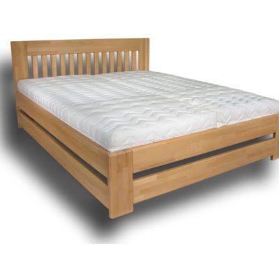 postel Jacques VIII s úpravou dvojité bočnice