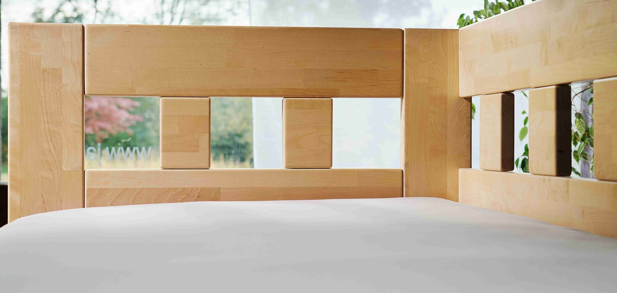 detail rohové postele
