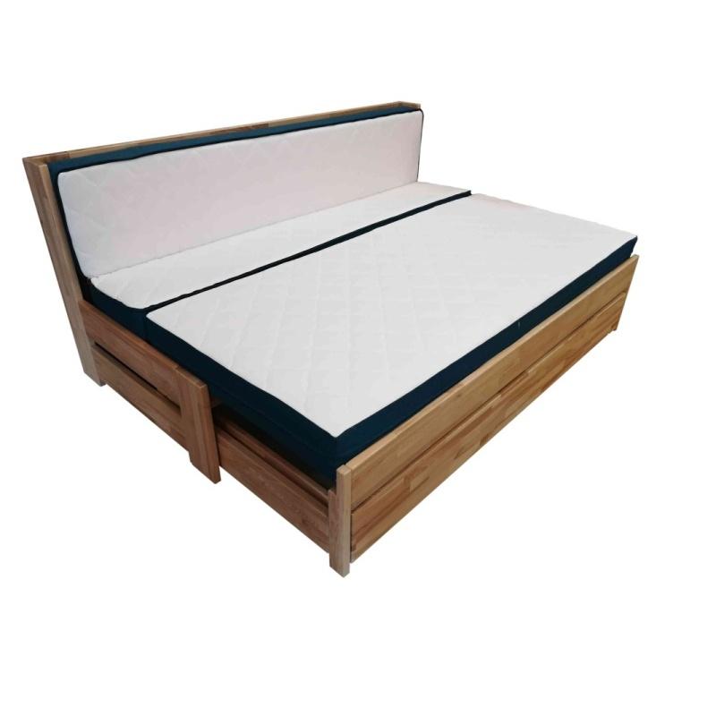 rozkládací postel v jednoapůllůžkovém rozkladu