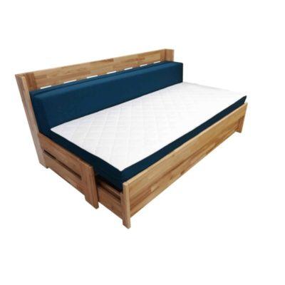 rozkládací postel v jednolůžkovém rozkladu
