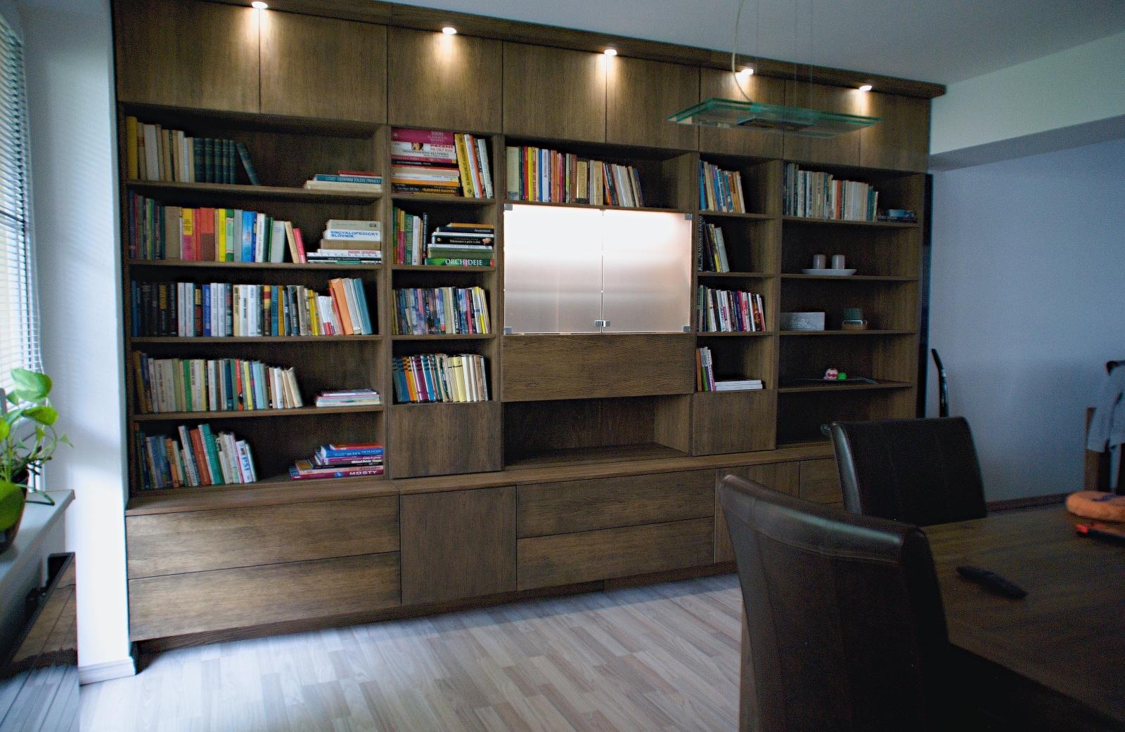 ukázka realizace knihovny